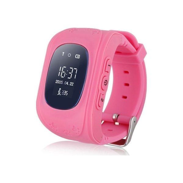 main children gps watch pink