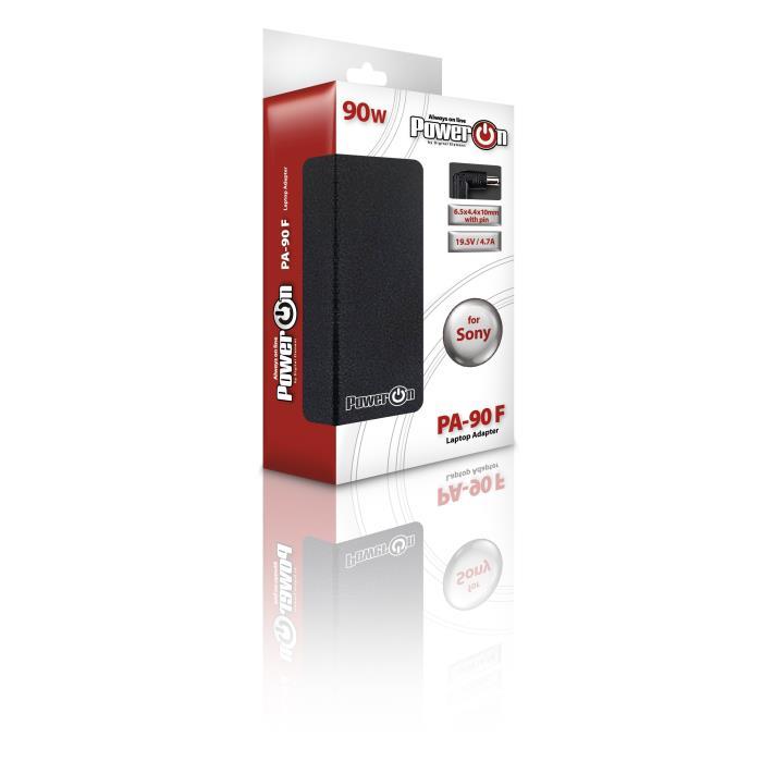 Notebook Adaptor 90W SONY 19,5V 6,5 x4,4 x 10