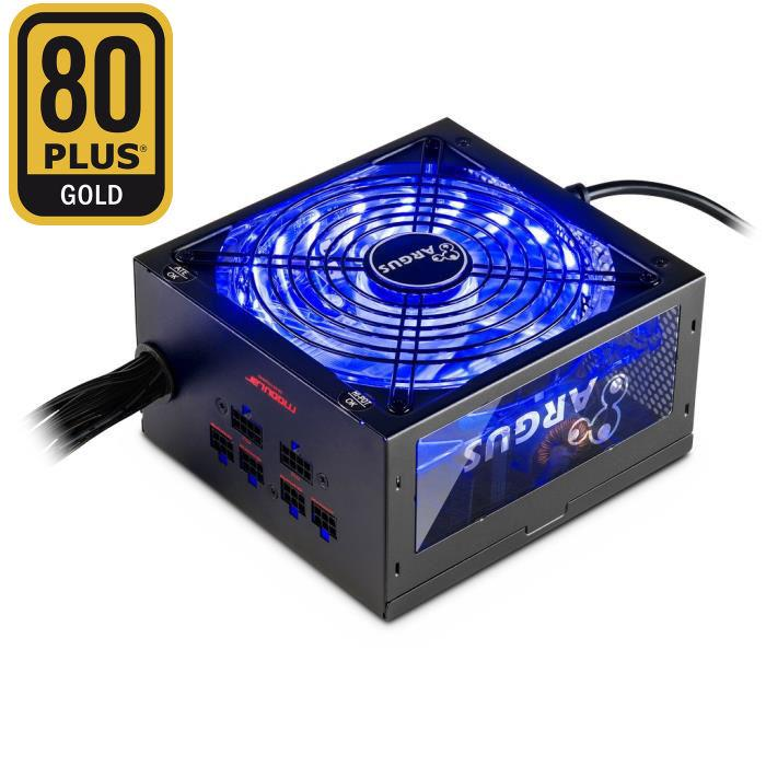 Psu ATX Inter-Tech  Argus RGB-650W 80+ Gold
