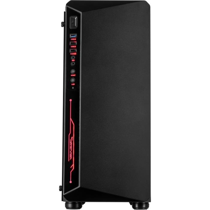 Computer Case Inter-Tech C-3 SAPHIR RGB