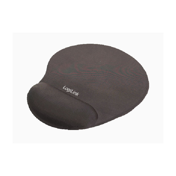Mousepad GEL Wrist Rest LogiLink ID0027 Black 1