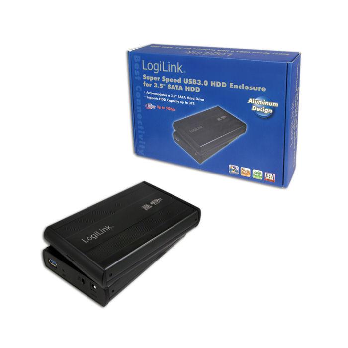 Enclosure 3,5'' SATA USB 3.0 Logilink UA0107
