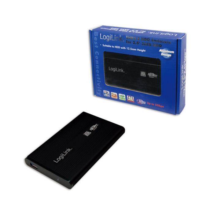 Enclosure 2,5'' SATA USB 3.0 Logilink UA0106