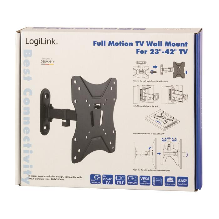 TV Bracket Logilink Tilt & Swivel BP0007