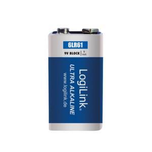 Battery 9V Alkaline Logilink 6LR61