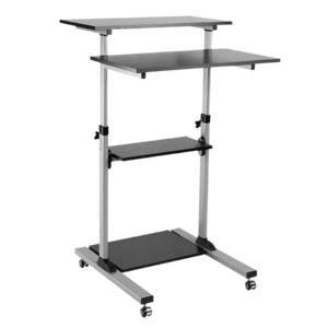 Compact Mobile Stand Up Computer Workstation Logilink BP0070