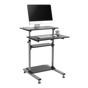 Compact Mobile Stand Up Computer Workstation Logilink BP0070