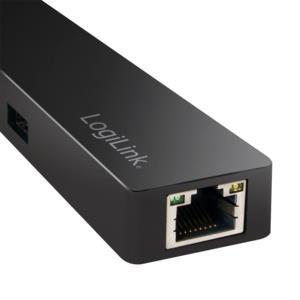 Hub Type-C 3.1 with Gigabit Adapter Logilink UA0313