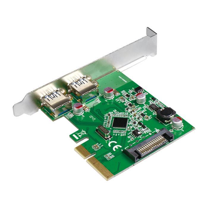 Pci Express to 2x USB 3.1 Gen2  Logilink PC0080