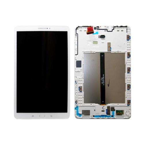 LCD with Touch Screen & Front Cover Samsung T580 Galaxy Tab A 10.1 (2016) Wi-Fi White (Original)
