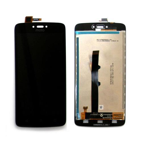 LCD with Touch Screen Motorola Moto C Black (OEM)