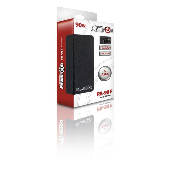 Notebook Adaptor 90W ASUS 19V 5,5 x 2,5 x12