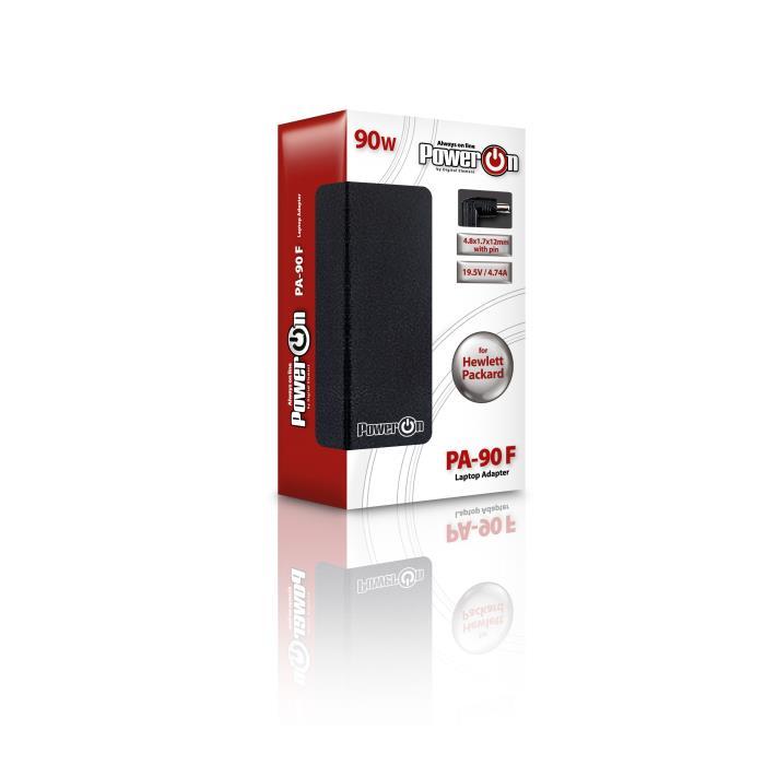 Notebook Adaptor 90W HP 19,5V 4,8 x 1,7 x12