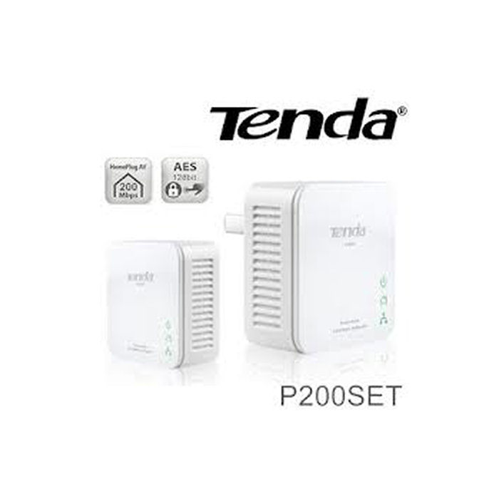 PowerLine Set 200Mbps Tenda P200 3