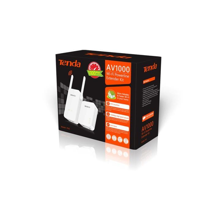 PowerLine Wireless 1000Mbps Extender Kit Tenda PH5