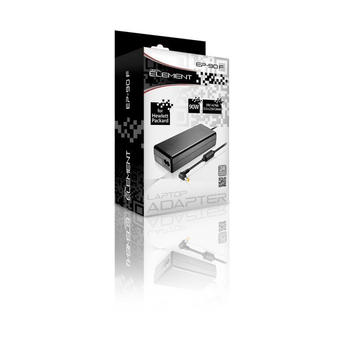 Notebook Adaptor 90W Element HP 19V 5,5 x 2,5 x12