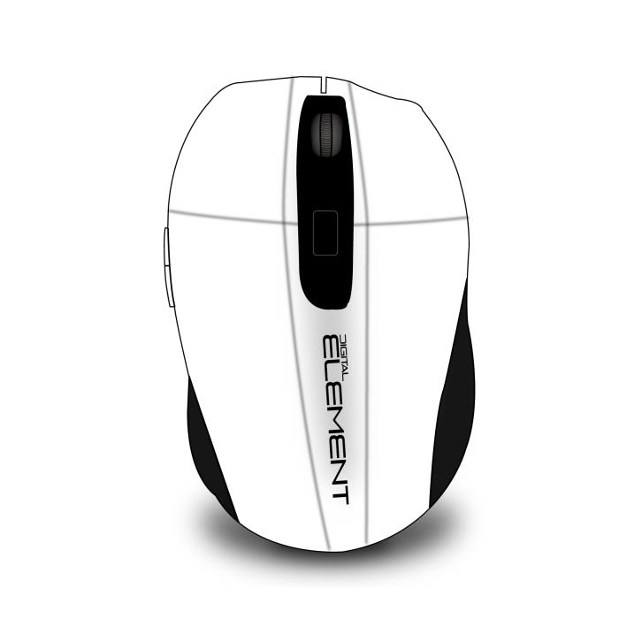 Mouse Wireless Element MS-175W