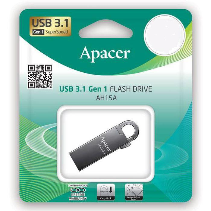 Usb 3.1 Gen1 Flash Drive 16GB Apacer AH15A Ashy RP