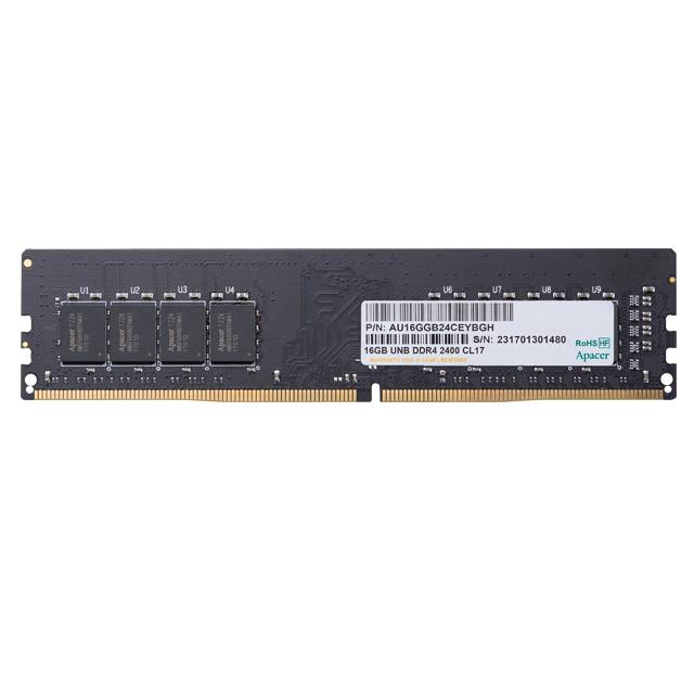 Memory 4GB 2400MHz CL17 DDR4 DIMM Apacer RP
