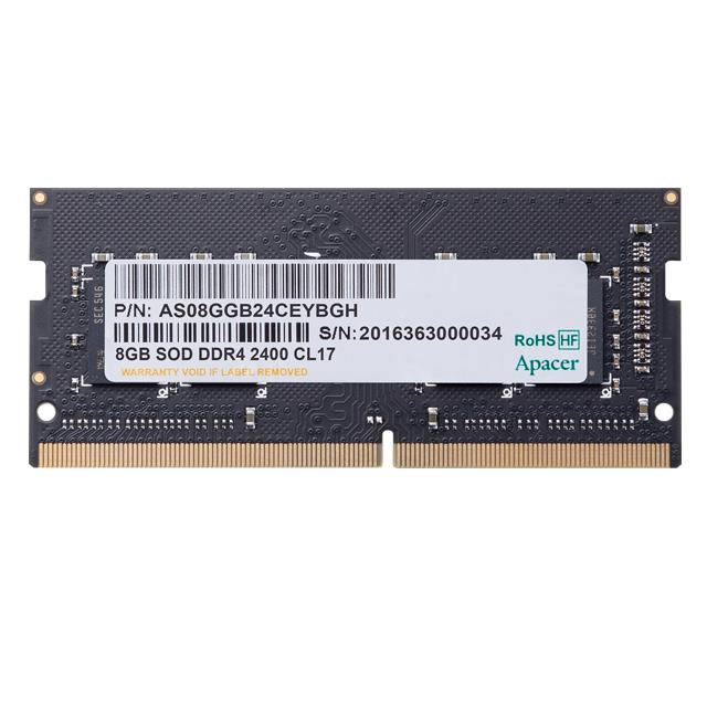 Memory 8GB 2400MHz CL17 DDR4 SODIMM Apacer RP