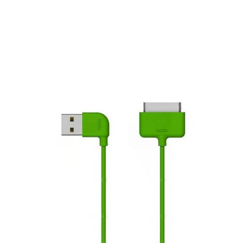 USB 2.0 Cable Osungo USB A to Apple 30-pin 1m Green