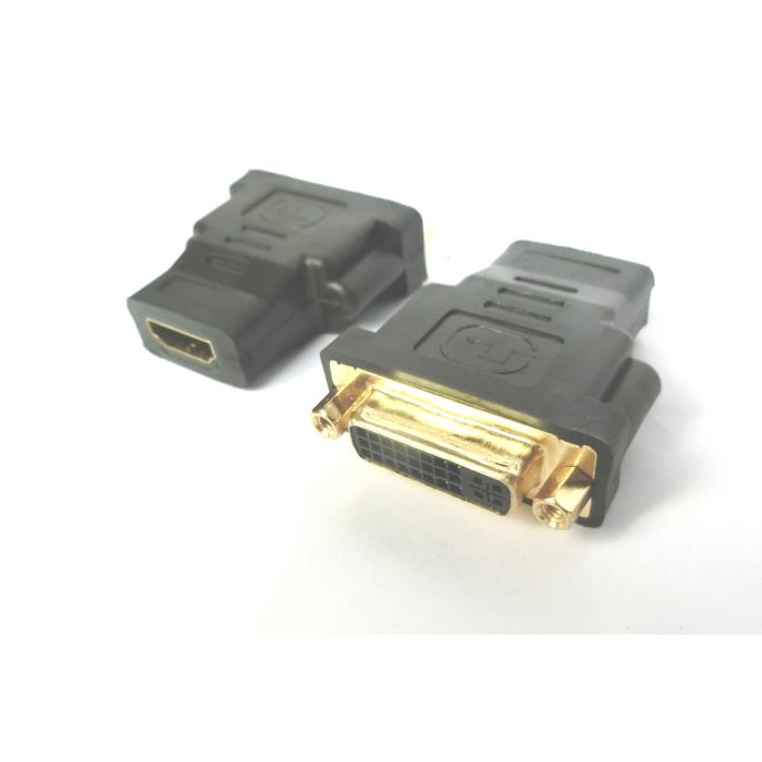 HDMI adapter F to DVI F Aculine AD-046