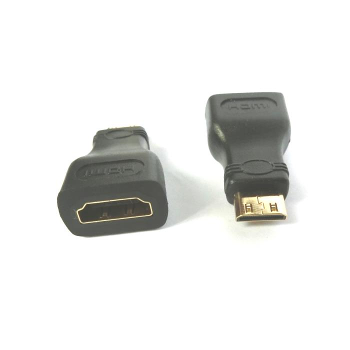 Mini HDMI adapter M/F Aculine AD-032