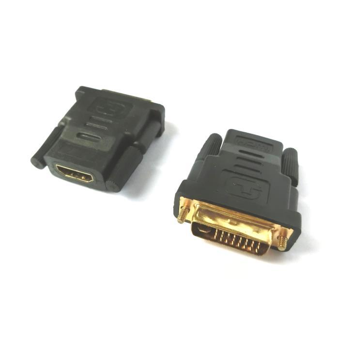 HDMI female adaptor to DVI male Aculine AD-021