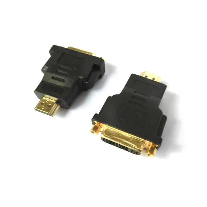 HDMI male adaptor to DVI female Aculine AD-022