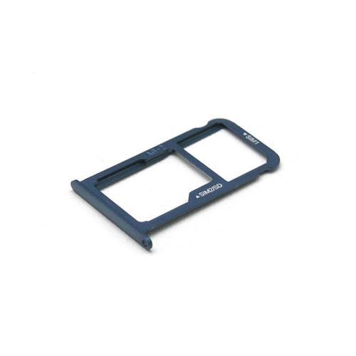 Sim & SD Card Holder Huawei P10 (Dual SIM) Dazzling Blue (OEM)