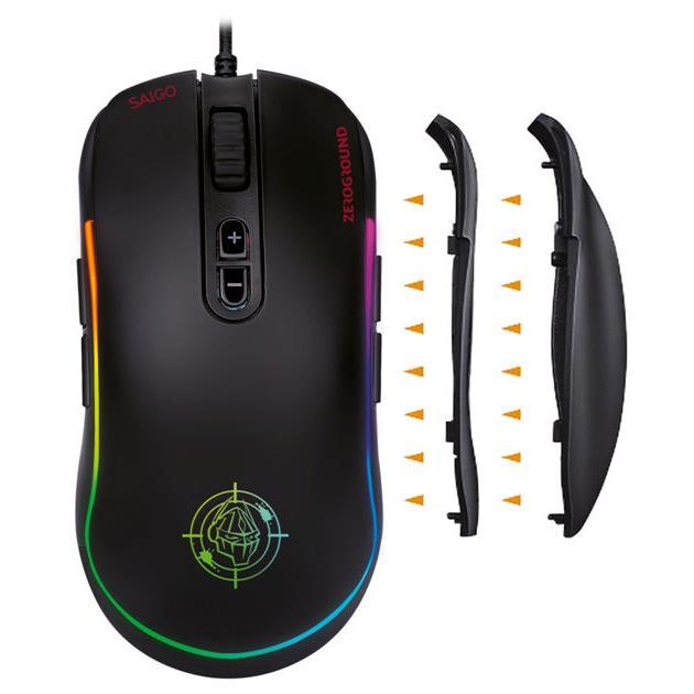 Mouse Zeroground RGB MS-3500G SAIGO v2.0