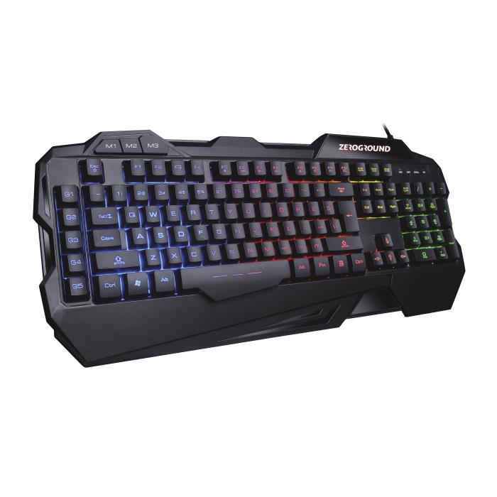 Keyboard Zeroground RGB KB-2500G HANZO v2.0
