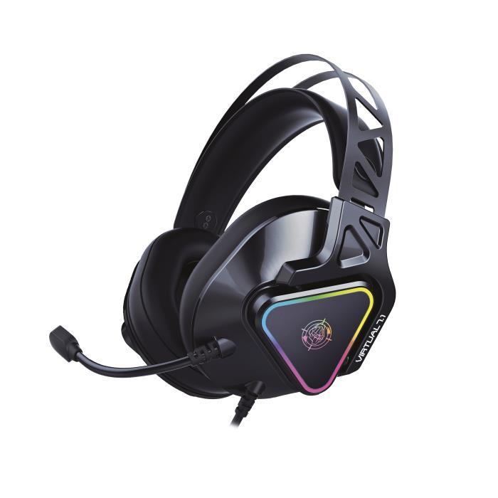 Headphone Zeroground RGB HD-3000G AKECHI PRO