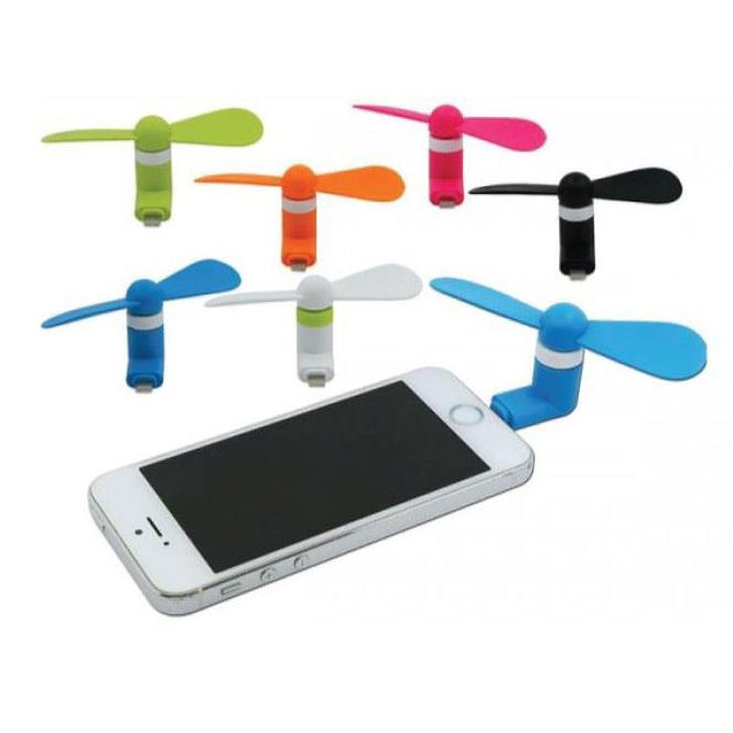 Remax Refon Mini Fan F10 for iPhone 5/6/7 blue