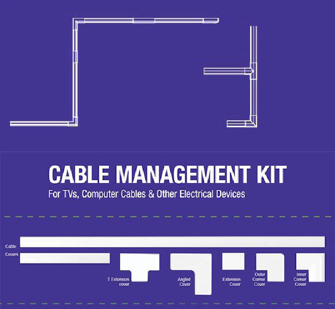 Cable Management Kit Focus Mount CM-8100