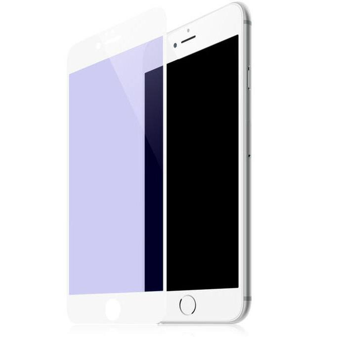 Tempered Glass WK for i7 plus 3D Curved Edge +TPU Case WTP002 White