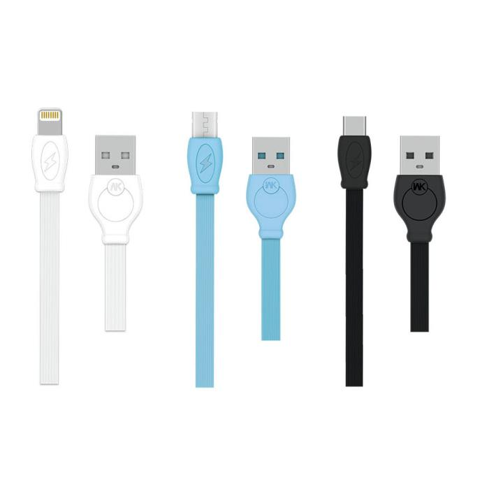Charging Cable WK Micro White 2m Fast WDC-023