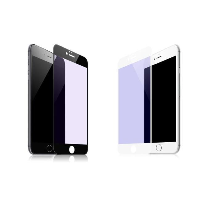 Tempered Glass WK for i8 plus 3D Curved Edge +TPU Case WTP002 White