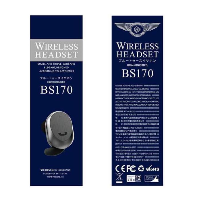 Handsfree WK BT BS-170 White