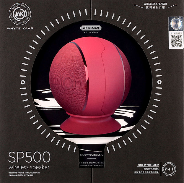 Speaker BT WK SP500 TWS Red