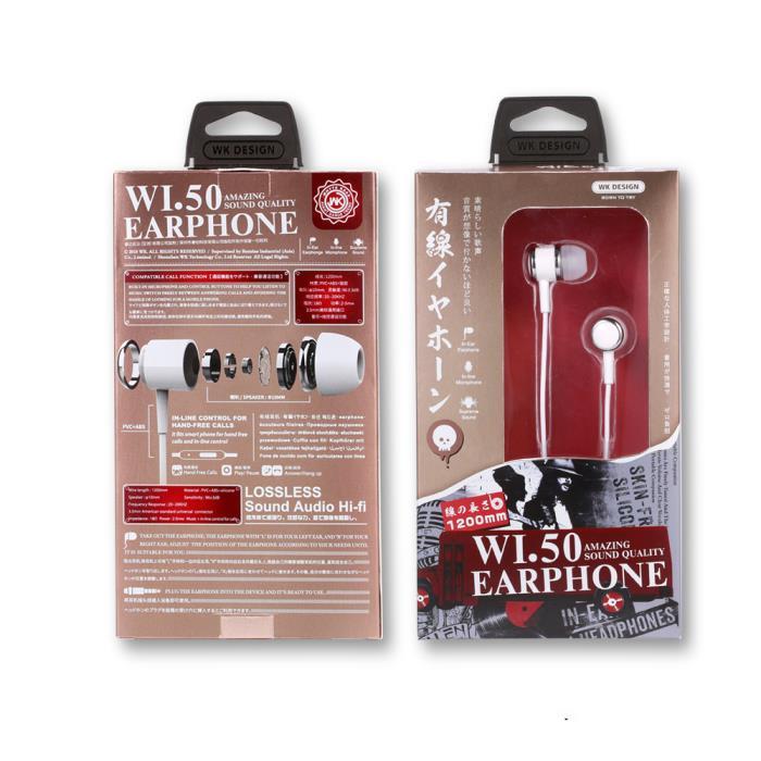 Earphone WK Wi50 Black