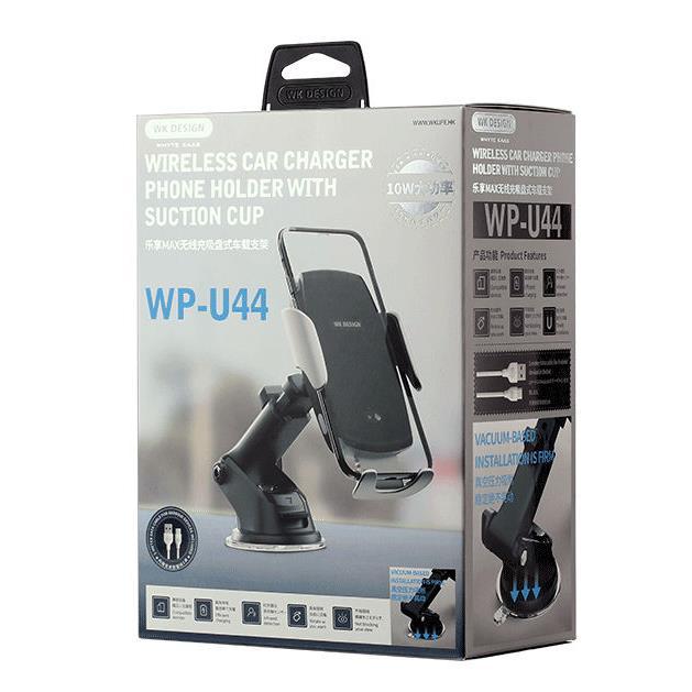 Wireless Charging Holder for Smartphone WK WP-U44 Black