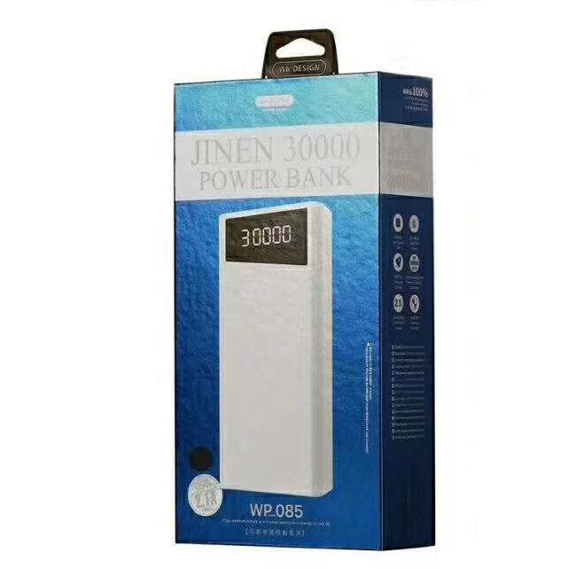 Power Bank WK 30000mAh JINEN Black WP-085