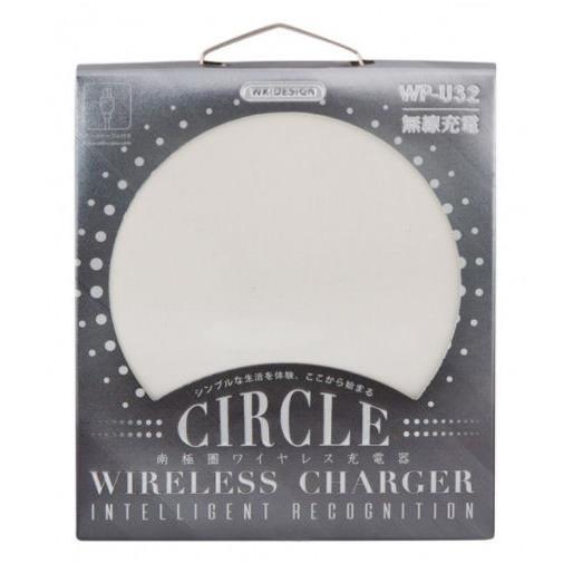 Charger Wireless WK Circle WP-U32 5W White