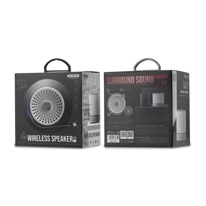 Speaker BT WK D6 Black