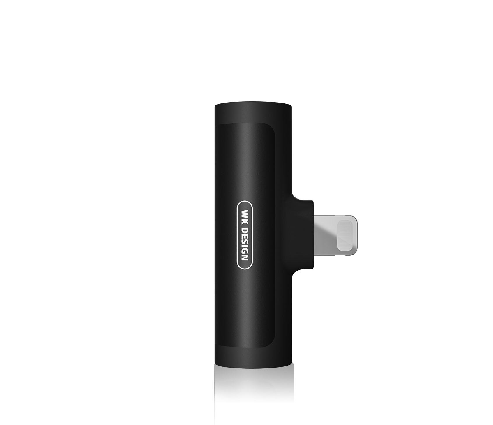 Adaptοr Lighting 2in1 Lighting & 3.5mm WDC-094i Black