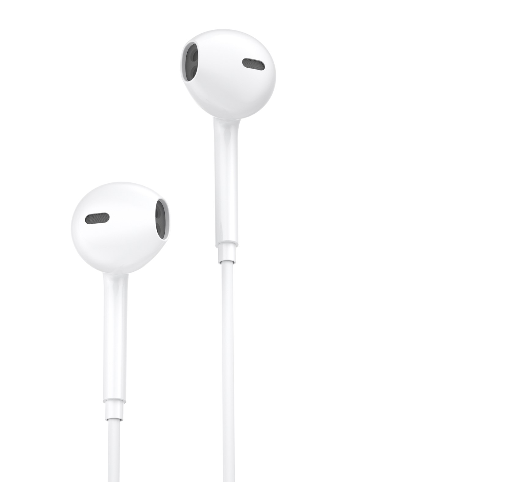 Earphone WK Y19 Lighting White