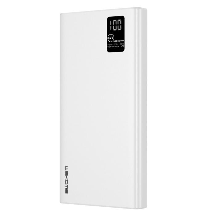 Power Bank WK 20000mAh PD22.5W White WP-123