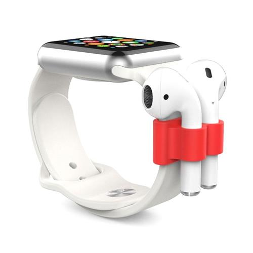 Holder AhaStyle PT47 Apple Airpods for Watch Straps Red