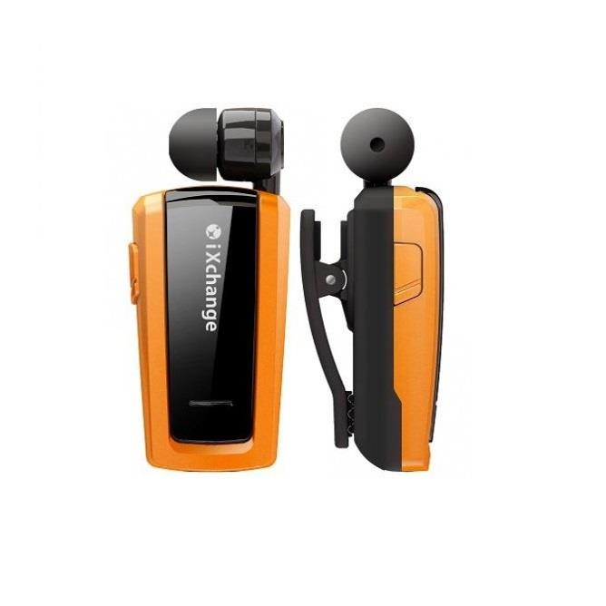Retractable BT Mini Headset UA25 Orange iXchange